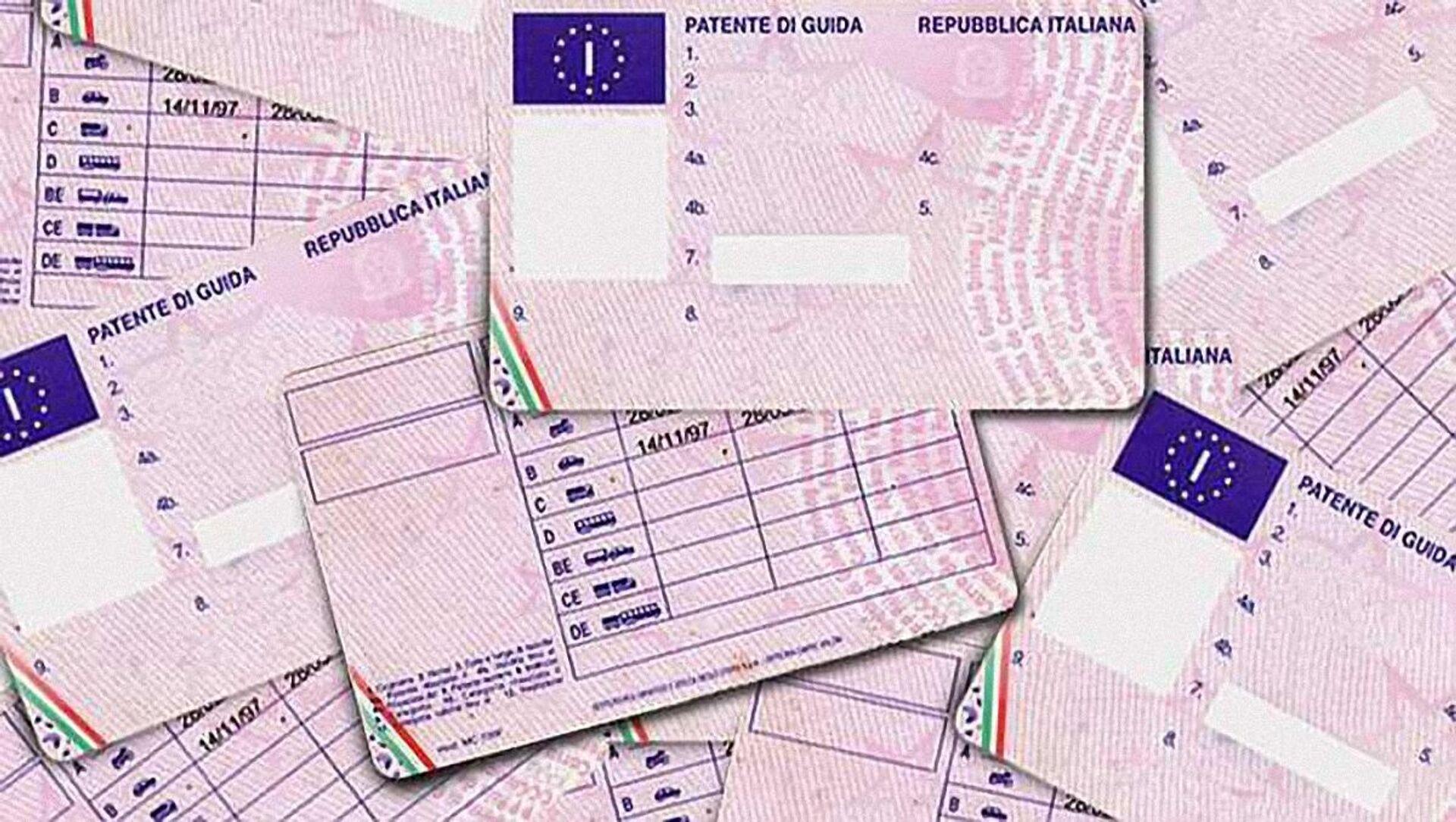 Patente di guida italiana, autorizzazione amministrativa necessaria per poter condurre veicoli a motore - Sputnik Italia, 1920, 06.03.2021