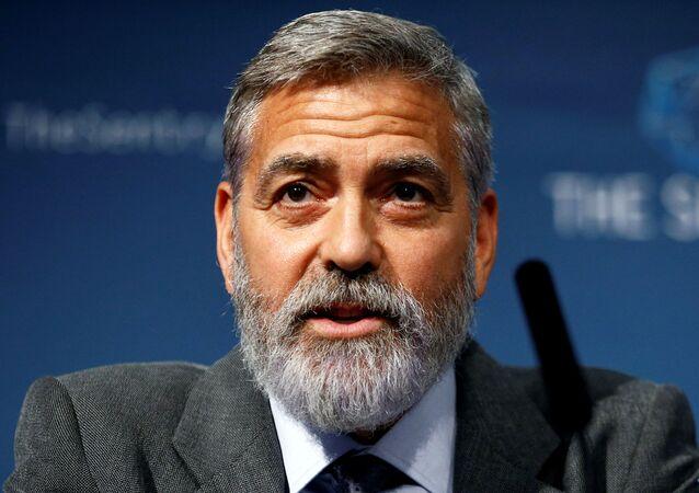 George Clooney (foto d'archivio)