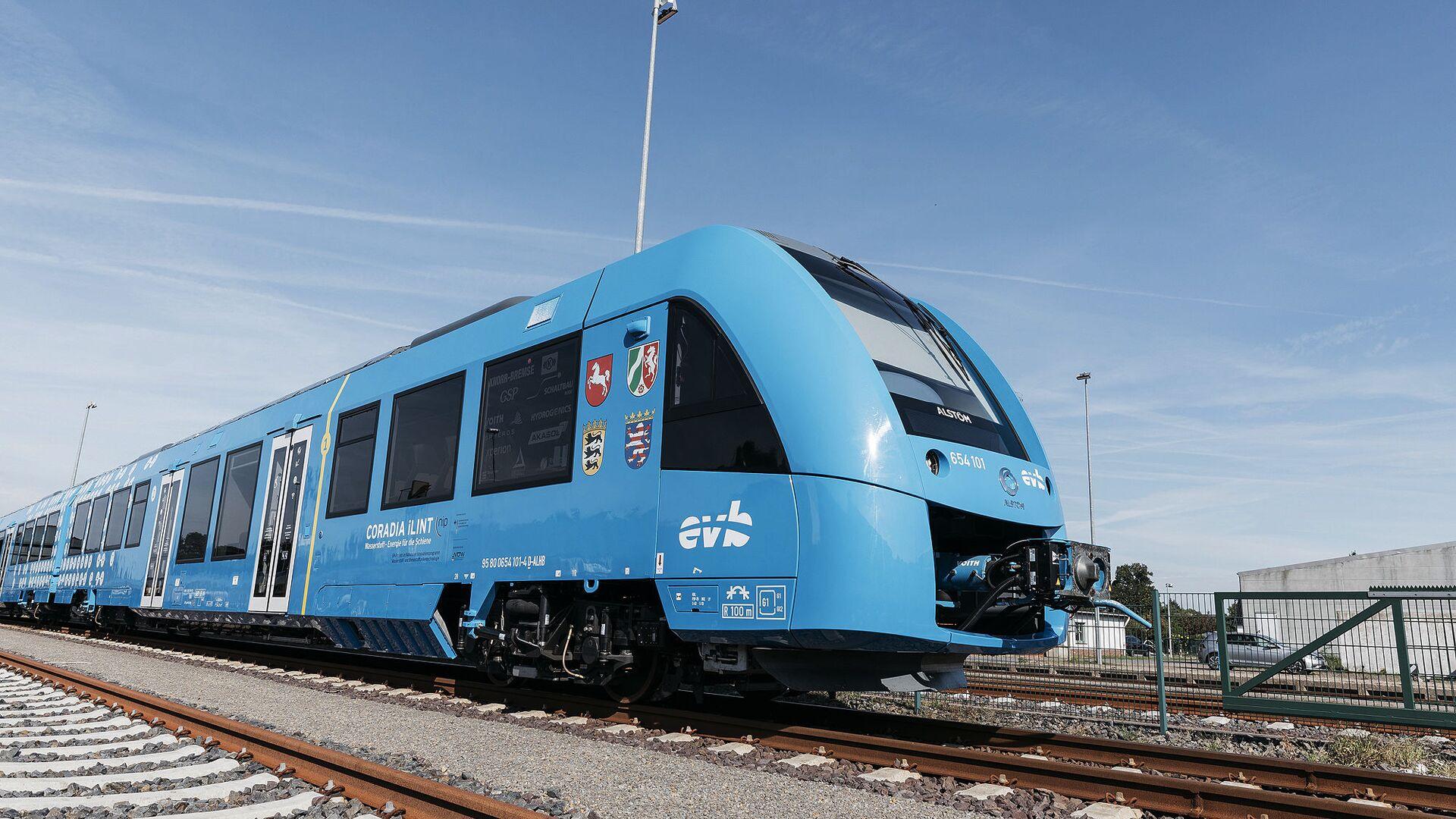 Il treno Alstom Coradia LINT - Sputnik Italia, 1920, 04.08.2021