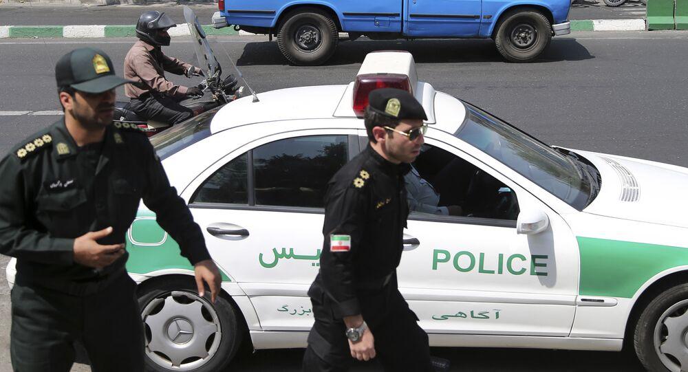 Polizia iraniana