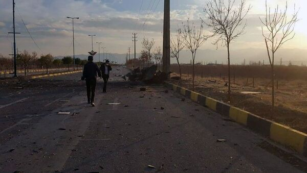 A view shows the site of the attack that killed Prominent Iranian scientist Mohsen Fakhrizadeh, outside Tehran, Iran, November 27, 2020. - Sputnik Italia