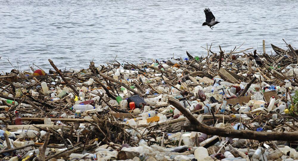 Rifiuti di plastica