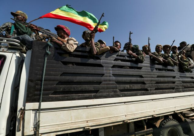 Guerra in Etiopia