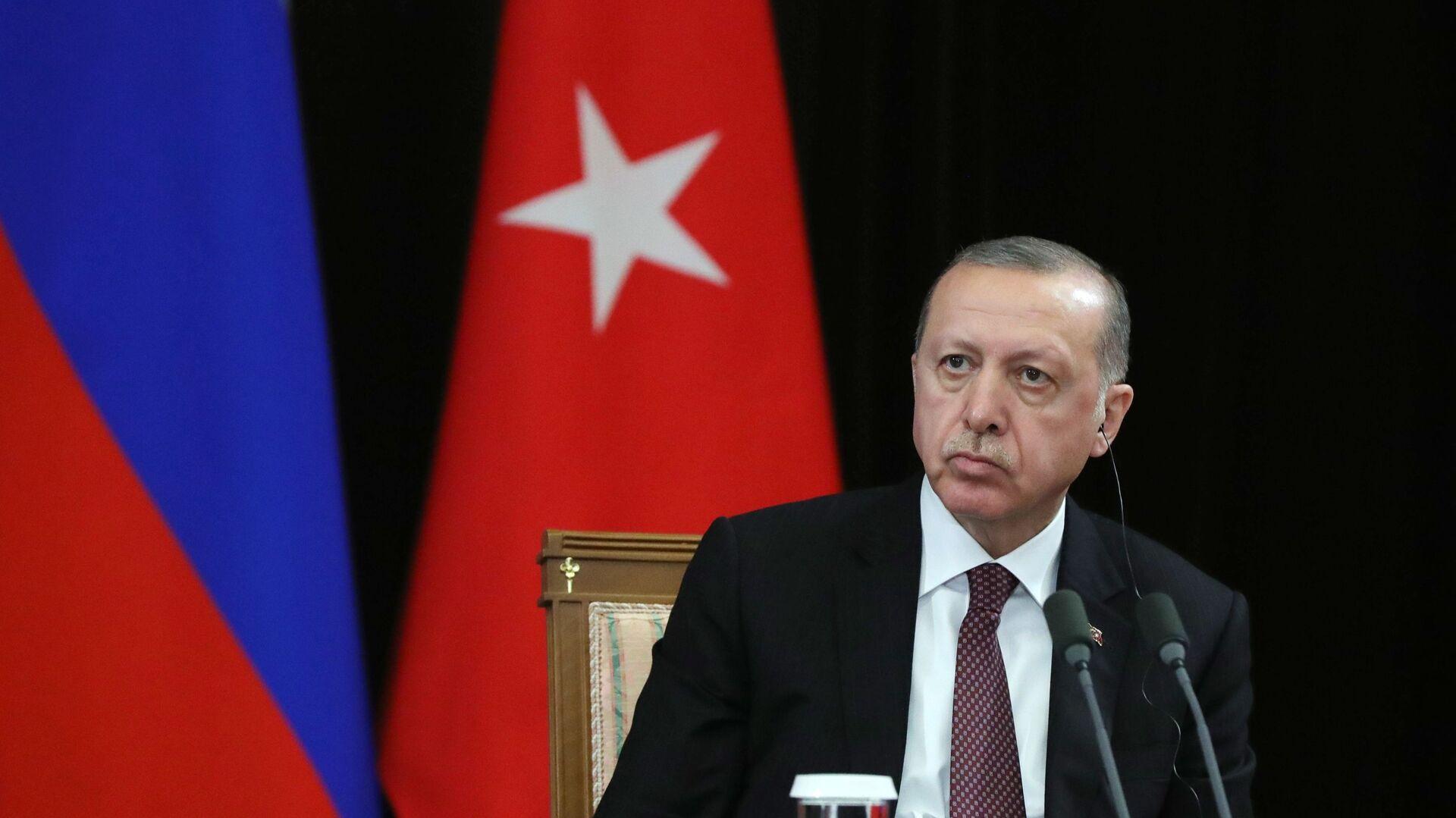 Il presidente turco Recep Tayyip Erdogan - Sputnik Italia, 1920, 17.08.2021
