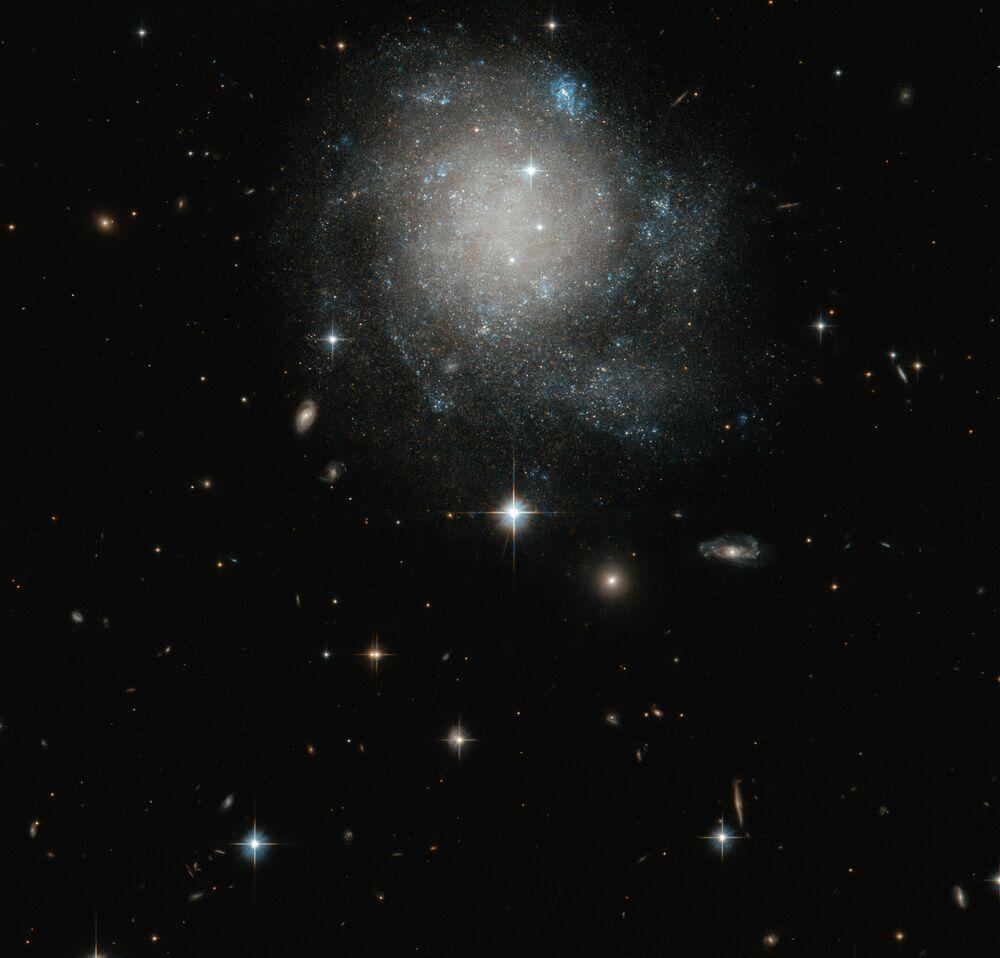 Galassia a spirale UGC 12588 nella costellazione di Andromeda.
