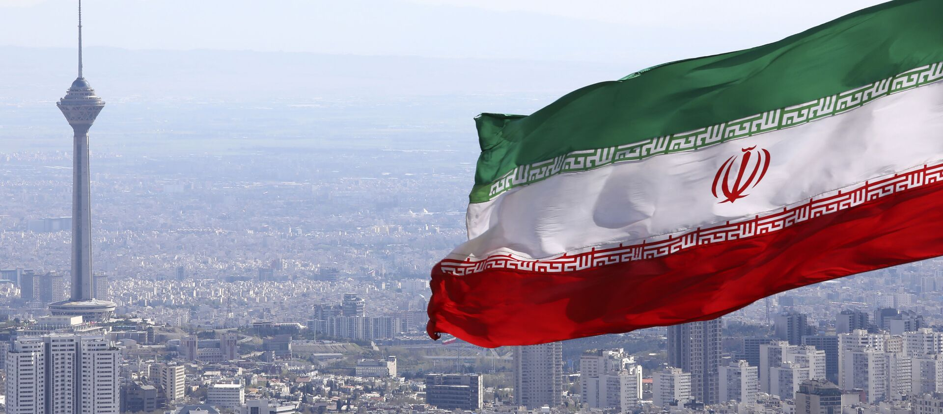 Bandiera iraniana, Iran, Teheran - Sputnik Italia, 1920, 16.02.2021