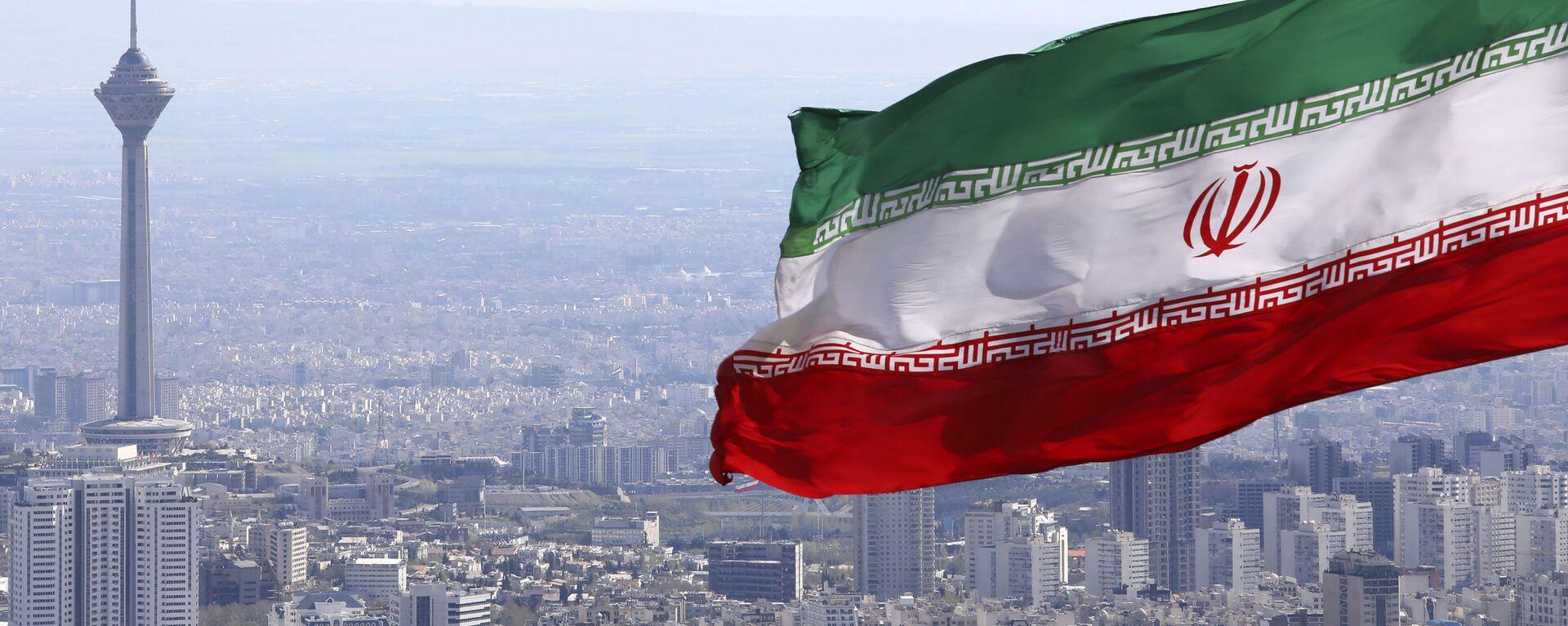 Bandiera iraniana, Iran, Teheran - Sputnik Italia, 1920, 03.05.2021