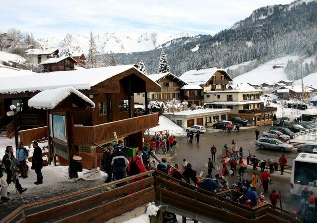 Turismo invernale sulle Alpi