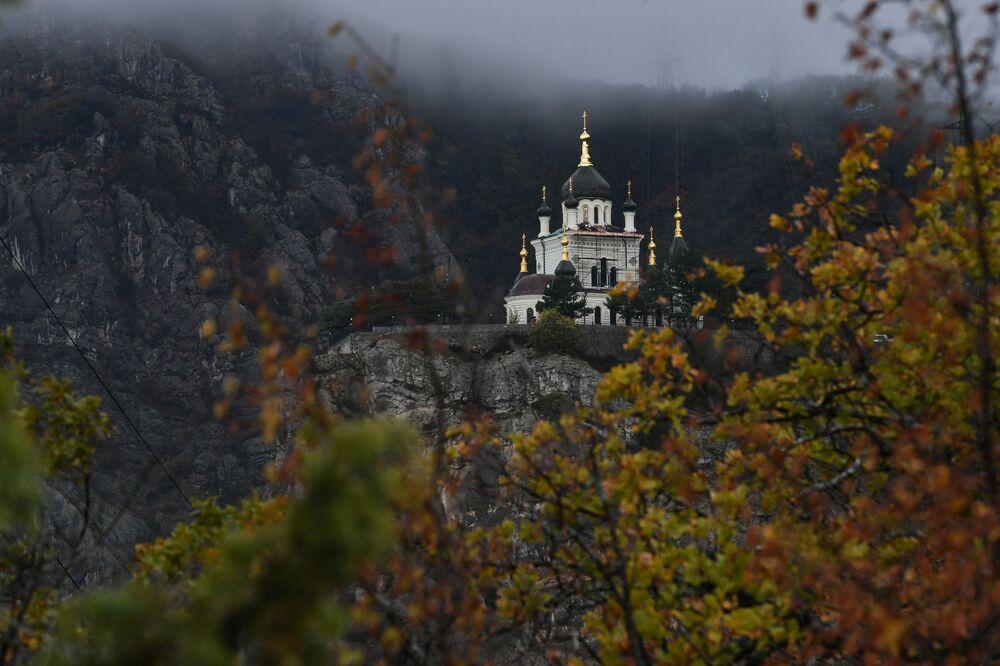 La Chiesa della risurrezione di Cristo, Foros, Crimea.