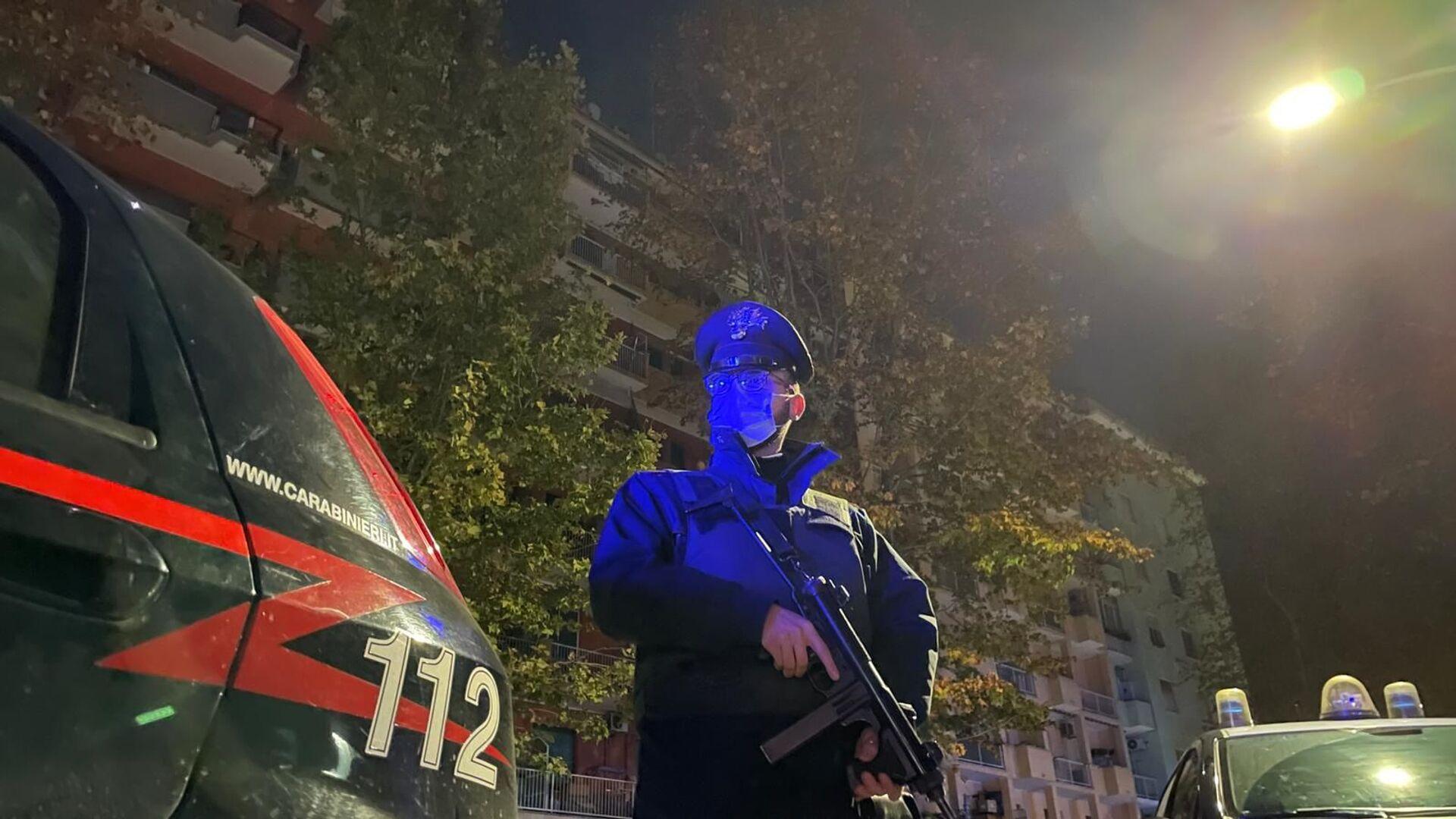 Operazione dei Carabinieri contro il cartello della droga della Camorra a Roma - Sputnik Italia, 1920, 20.04.2021