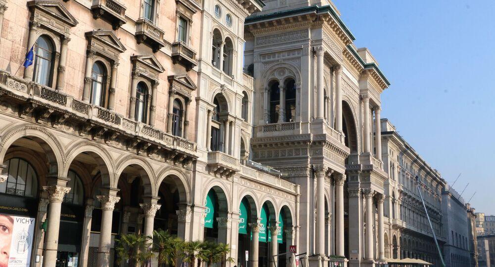 Galleria Vittorio Emanuele II a Milano