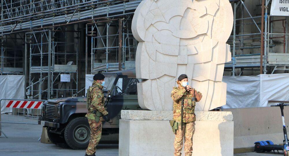 """I militari in servizio nell'Operazione """"Strade Sicure"""""""