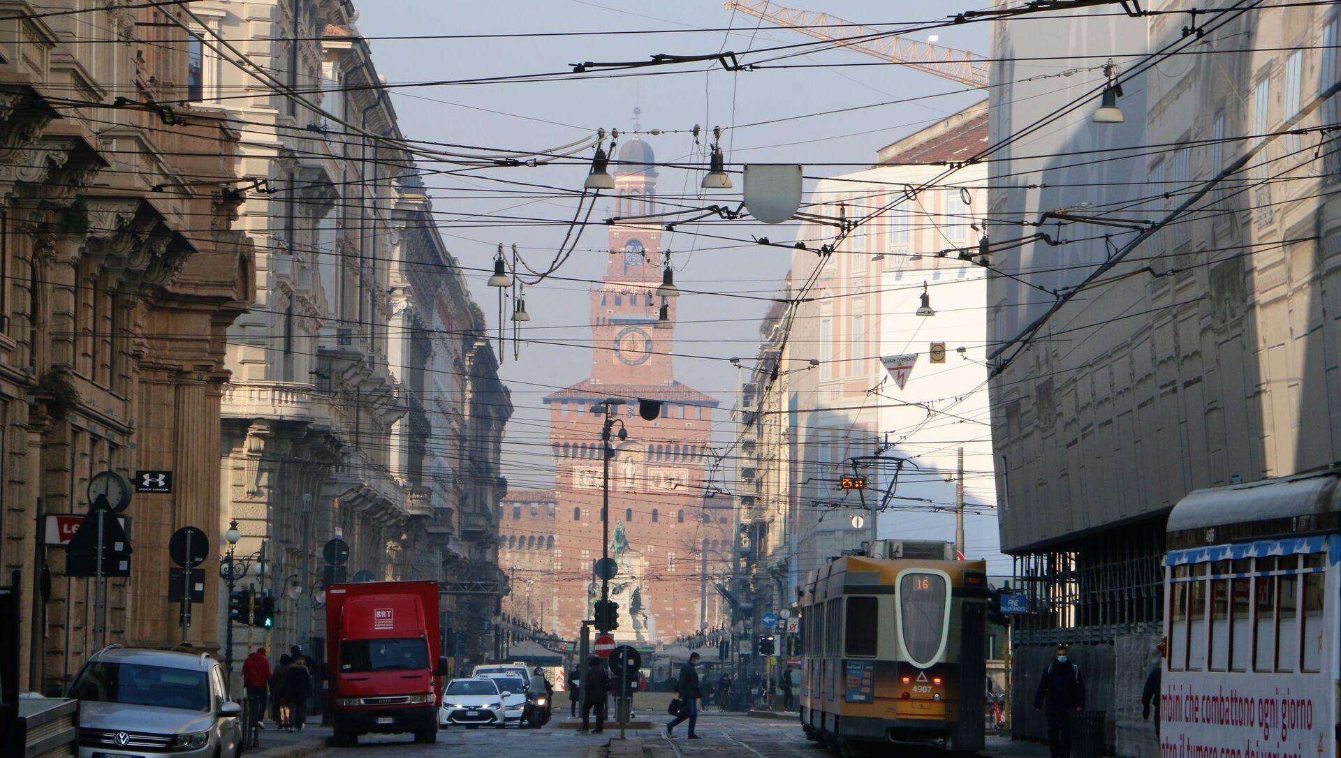 Una strada a Milano - Sputnik Italia, 1920, 04.04.2021