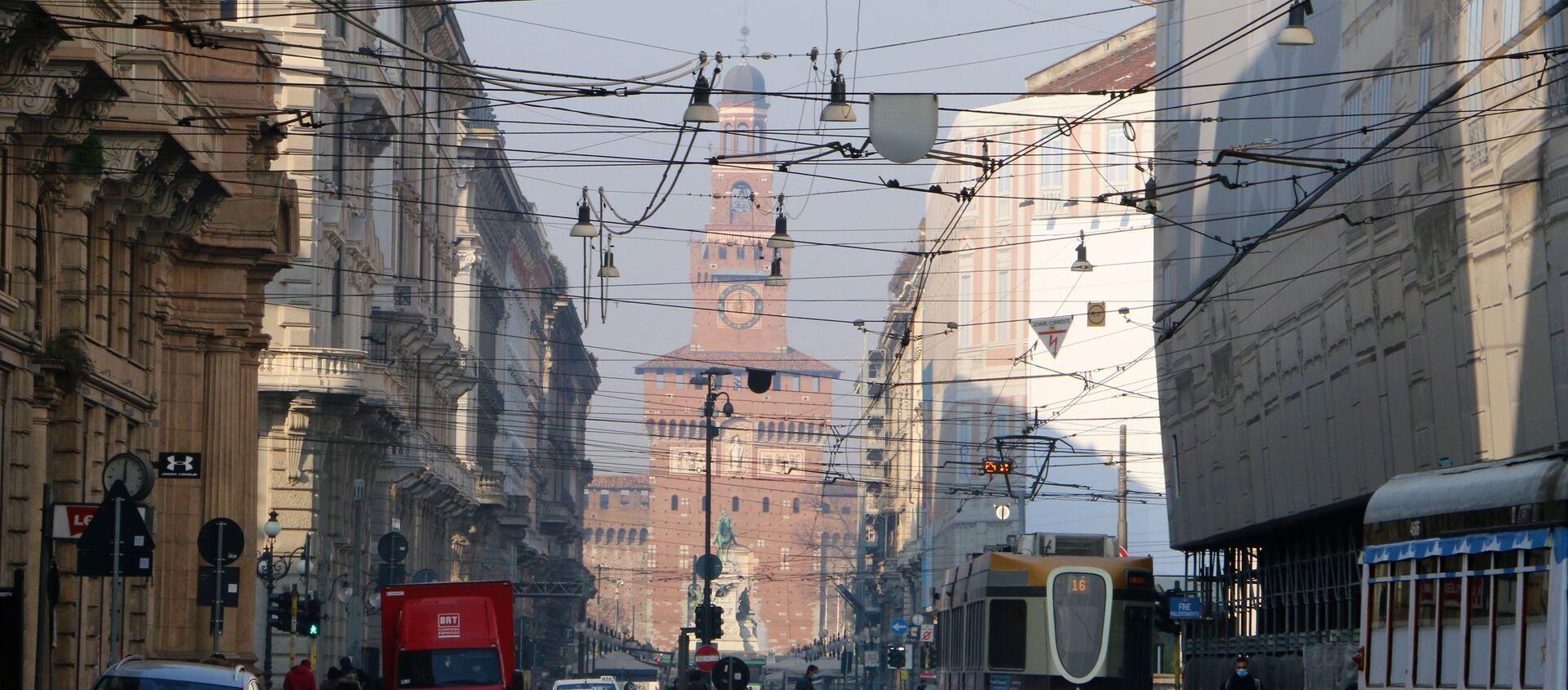 Una strada a Milano - Sputnik Italia, 1920, 12.03.2021