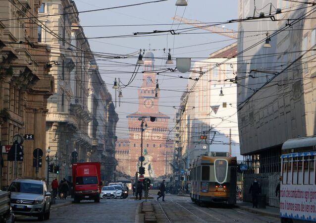 Una strada a Milano