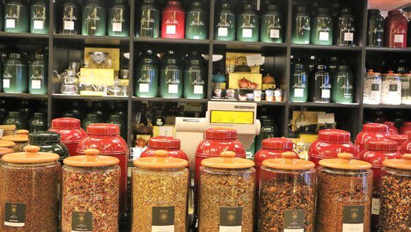 Un negozio di tè - Sputnik Italia