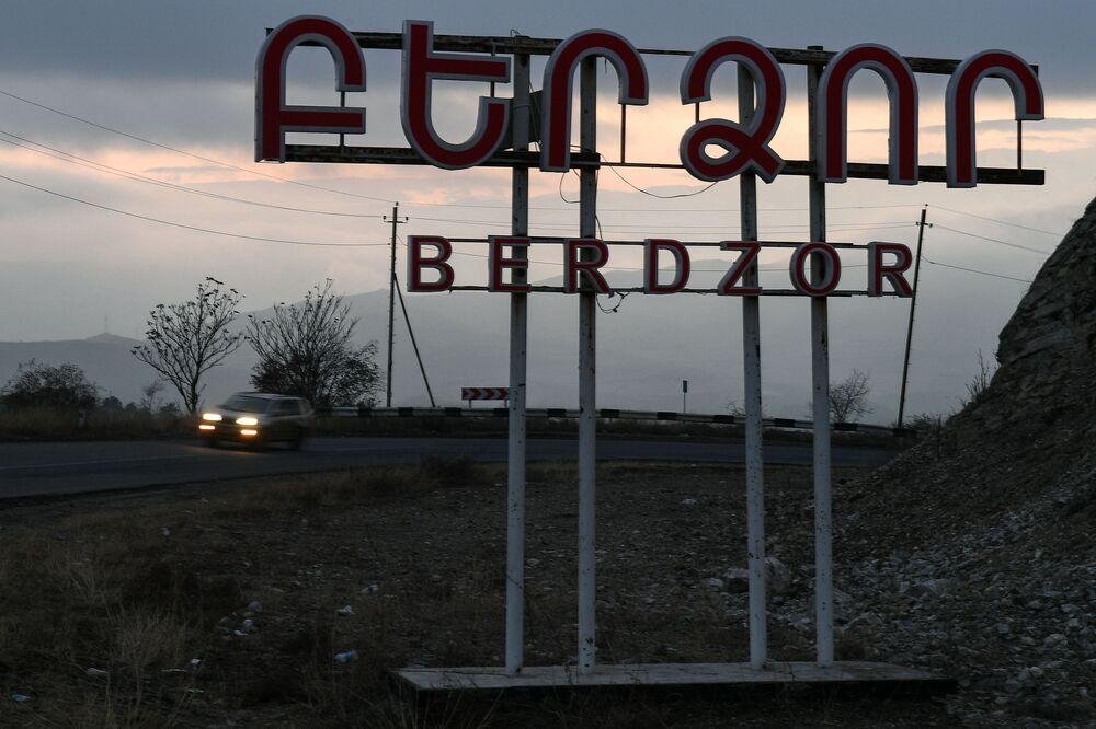 Città di Lachin (Berdzor) nel Nagorno-Karabakh