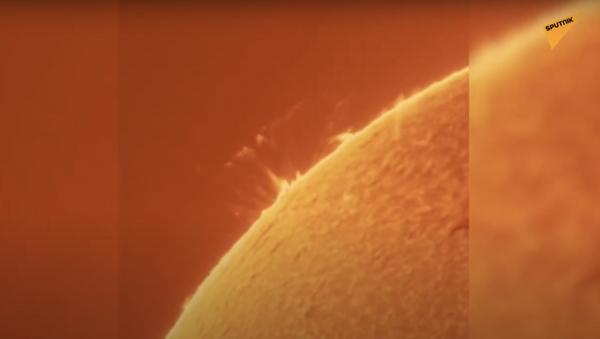 Il più potente brillamento solare degli ultimi tre anni - Sputnik Italia