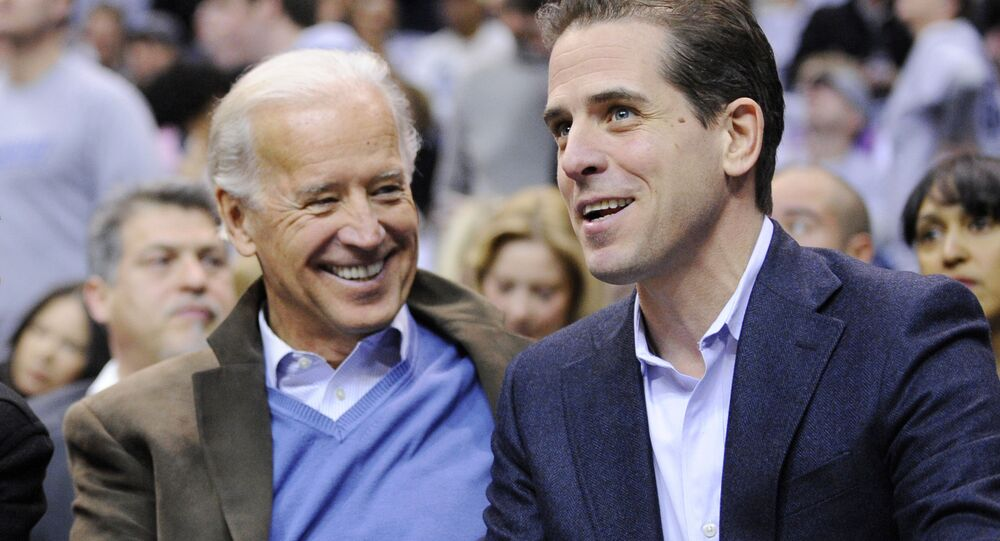 Barack Obama, Joe Biden ed Hunter Biden