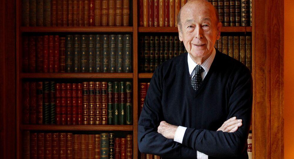 Ex presidente della Francia Giscard