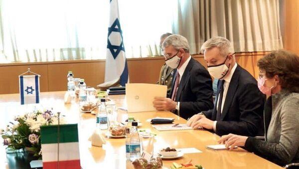 Guerini incontra Netanyahu a Tel Aviv - Sputnik Italia