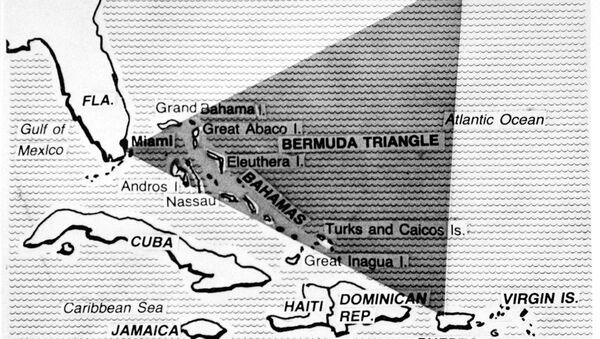 Бермудский треугольник на карте - Sputnik Italia