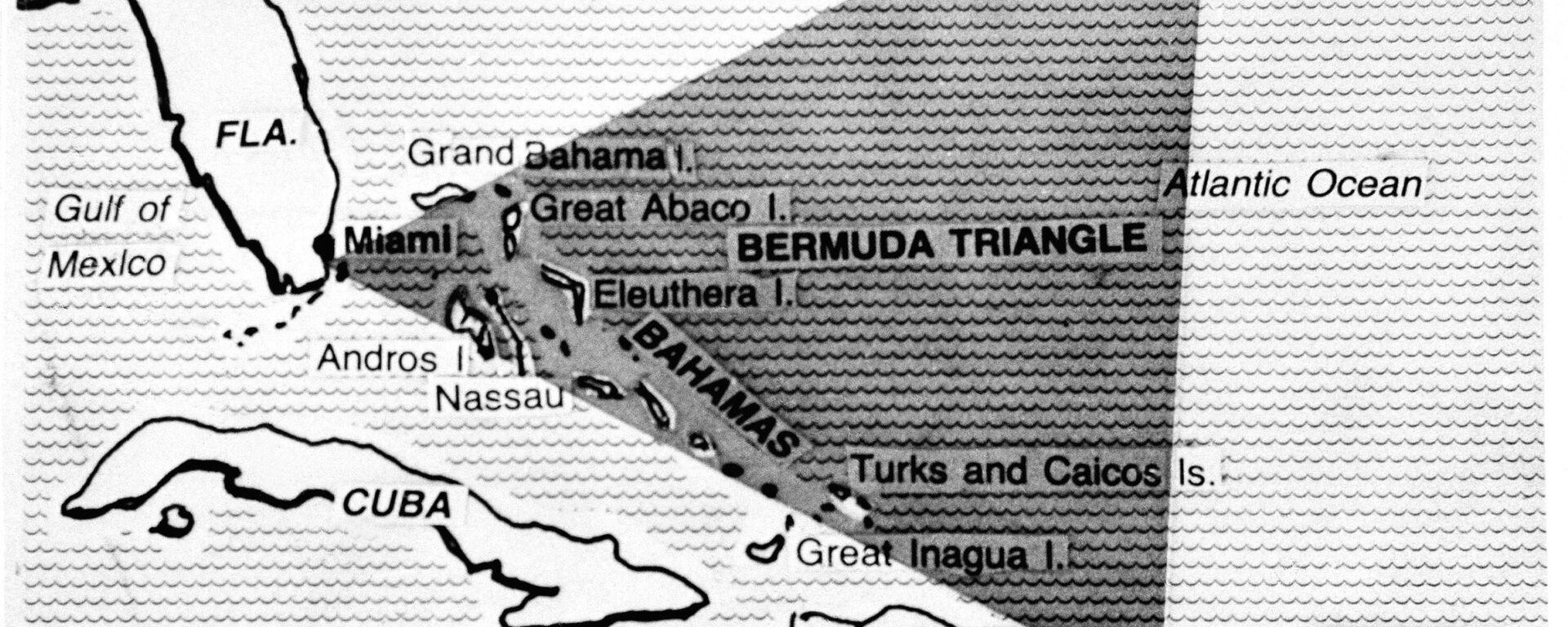 Бермудский треугольник на карте - Sputnik Italia, 1920, 05.12.2020