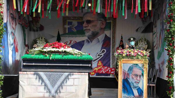 Funerali dello scienziato Mohsen Fakhrizadeh - Sputnik Italia