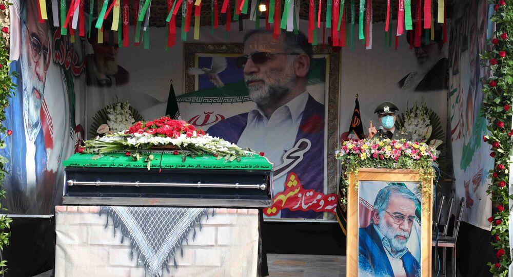 Funerali dello scienziato Mohsen Fakhrizadeh