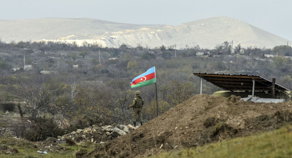 Soldato dell'Azerbaijan