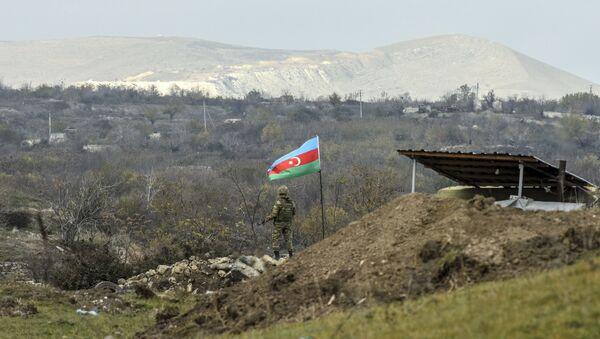Soldato dell'Azerbaijan  - Sputnik Italia
