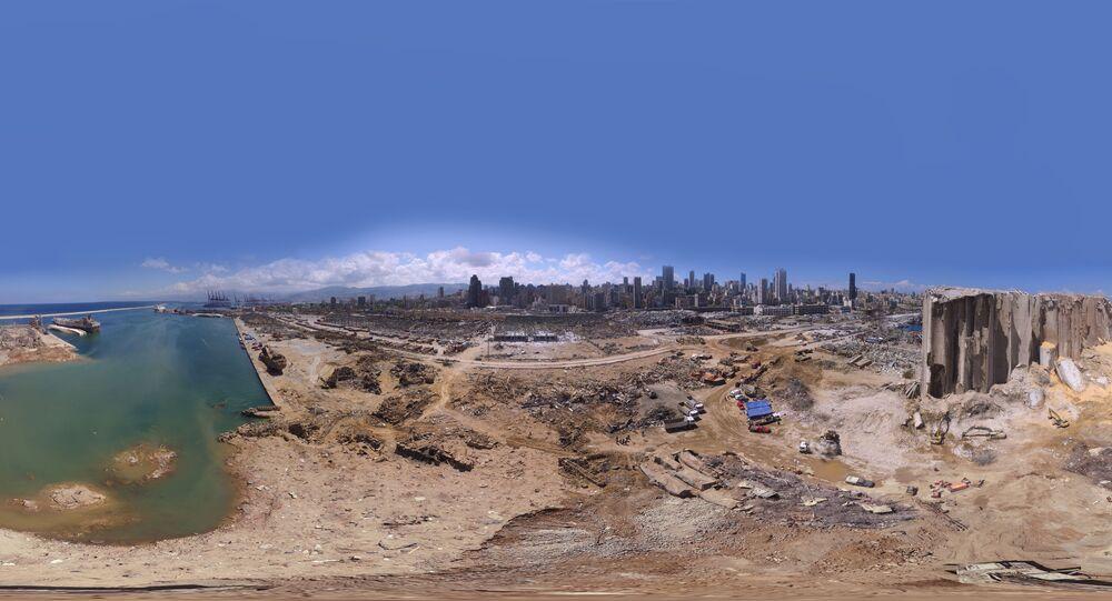 La panorama di Beirut