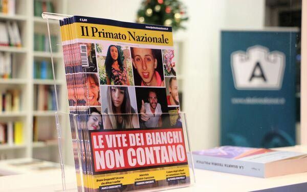 """""""Le vite dei bianchi non contano"""", il Primato in edicola contro l'autorazzismo dei media - Sputnik Italia"""