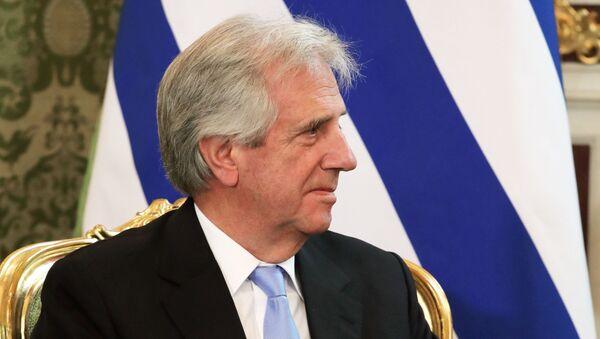 El presidente de Uruguay, Tabaré Vázquez - Sputnik Italia