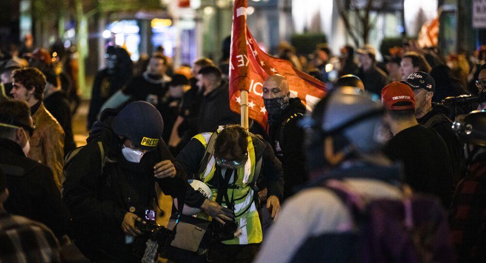 Manifestazioni Antifa USA