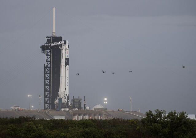 Razzo vettore Falcon-9 della compagnia SpaceX