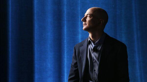 Jeff Bezos, proprietario di Amazon  - Sputnik Italia