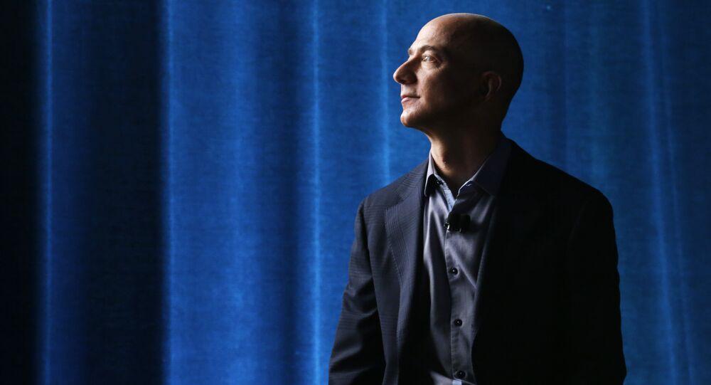 Jeff Bezos, proprietario di Amazon