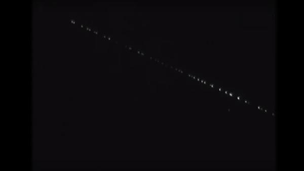 Space X Starlink satellites - Sputnik Italia