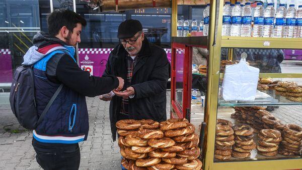 Istanbul, commercio di strada - Sputnik Italia