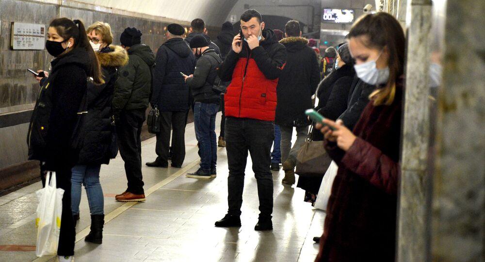Coronavirus in Russia - Metropolitana di Mosca, dicembre 2020