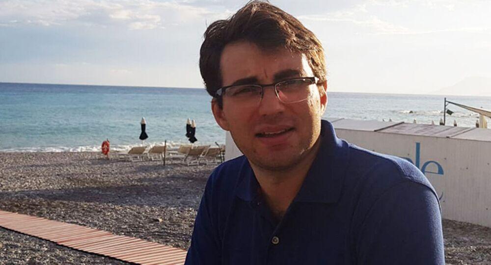 Ricercatore italiano Lorenzo Bianchini dell'Infn