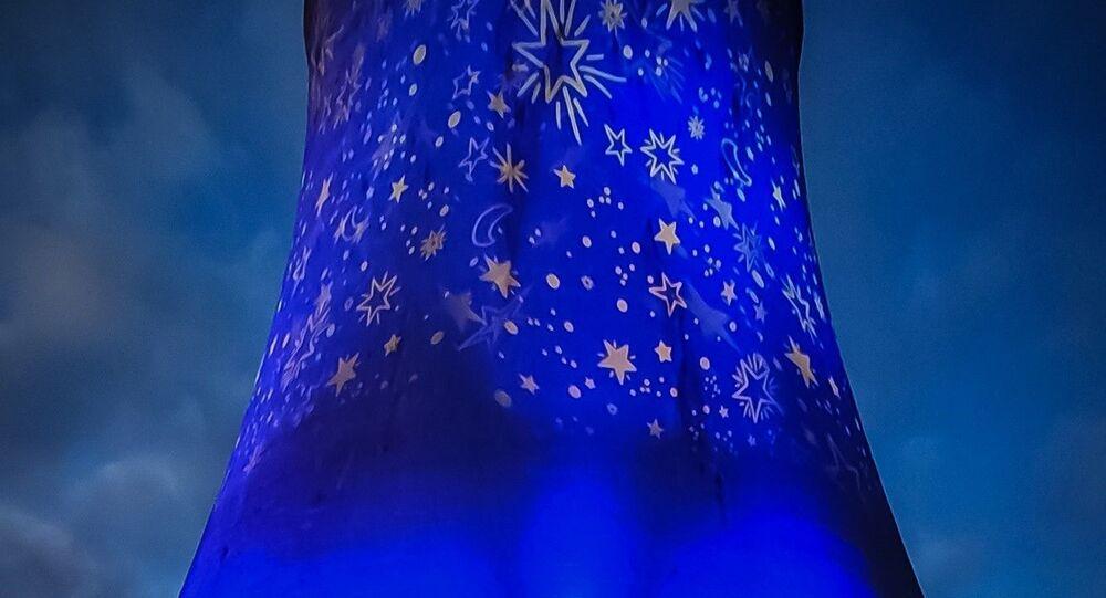 Illuminazione della centrale di Monterotondo M.mo