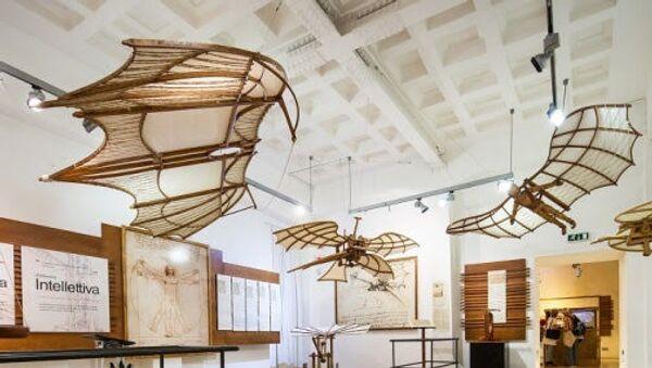 La mostra permanente di Leonardo da Vinci a Roma - Sputnik Italia