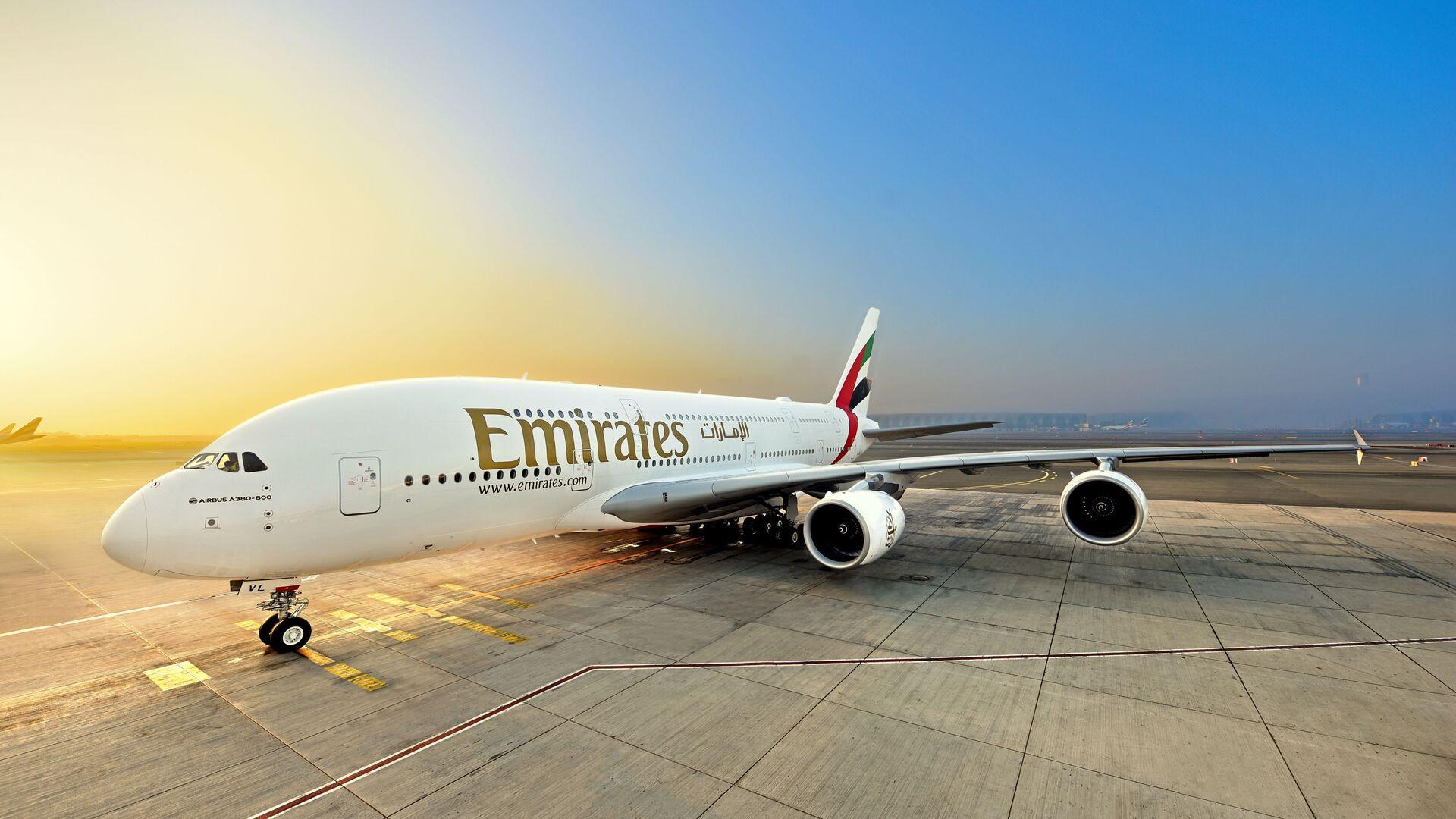 L'A380 di Emirates a Dubai - Sputnik Italia, 1920, 02.06.2021