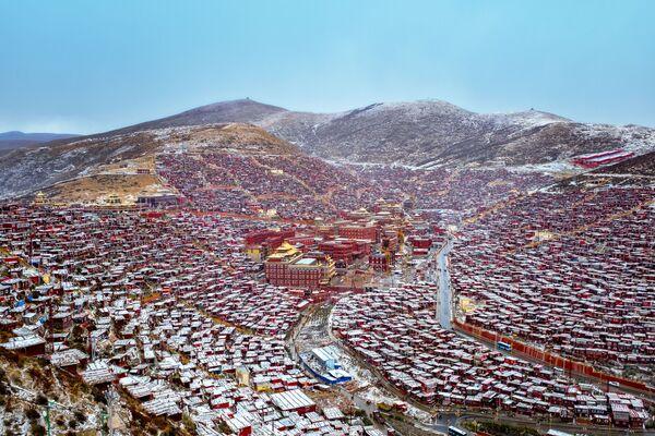 La foto del fotografo cinese Wang Wenwei, Earth Photo 2020 - Sputnik Italia