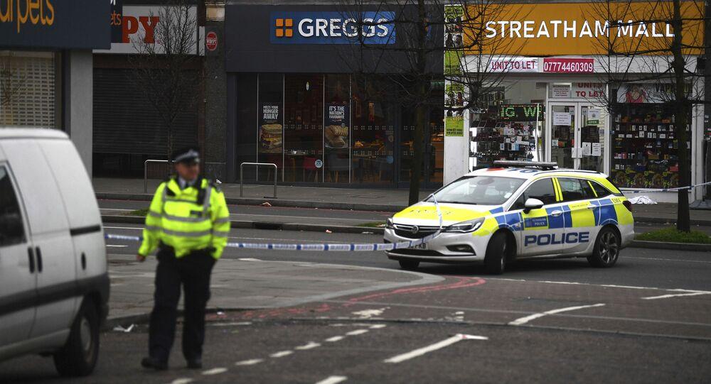 Polizia britannica