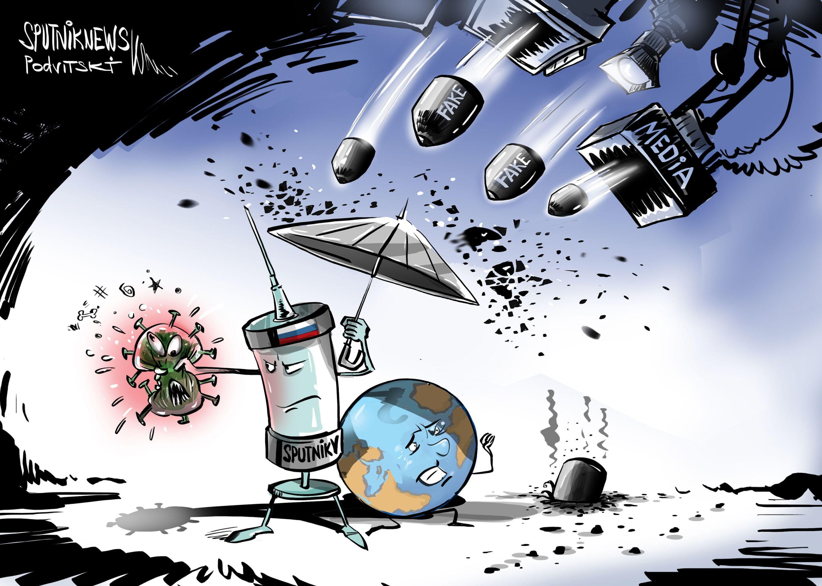 Mass media VS Sputnik V
