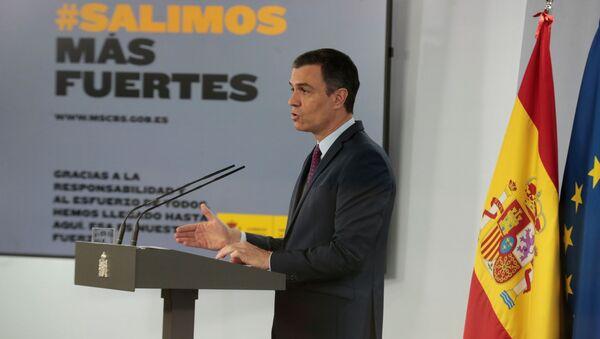 Il premier spagnolo Pedro Sanchez - Sputnik Italia