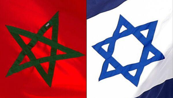 Combinazione bandiere Marocco e Israele - Sputnik Italia
